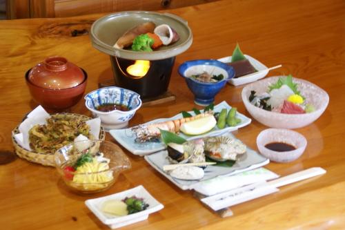 Seafood kaiseki cuisine plan